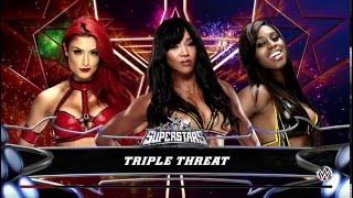 getlinkyoutube.com-WWE2K16 ALICIA FOX VS NAOMI VS EVA MARIE