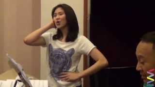 getlinkyoutube.com-Sarah G Voice Rehearsal Reaches High Notes! [EXCLUSIVE]