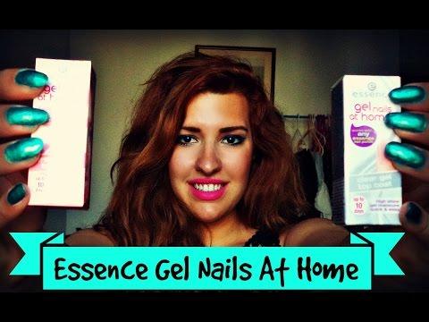 Πως Να κάνετε Gel Νύχια Στο Σπιτι (Εssence Gel Nails At Home)