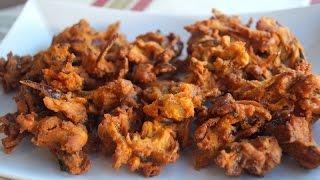 getlinkyoutube.com-Crispy Onion Pakoda / Pakora - in Tamil - No Soda Yet Crispy