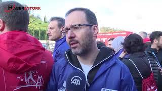 Vodafone 40  İstanbul Maratonu koşuluyor