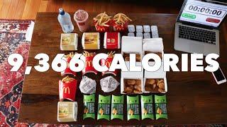 getlinkyoutube.com-2016 Olympic Cheat Meal Challenge (Sawan Serasinghe's McDonald's Feast)