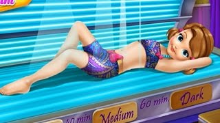 getlinkyoutube.com-NEW Игры для детей—Disney Принцесса София в солярии—Мультик Онлайн Видео Игры для девочек