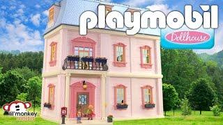 getlinkyoutube.com-Playmobil Deluxe Dollhouse!