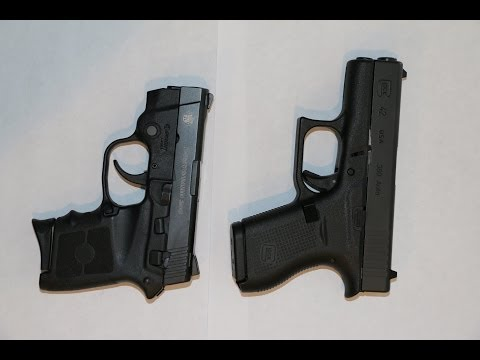 Glock 42 .380 vs Smith & Wesson Bodyguard .380