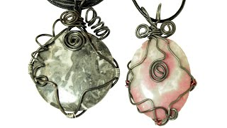 getlinkyoutube.com-Quick Wrap! Wire Wrapping Tutorial for Pendants
