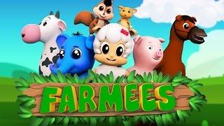 Animal nursery rhymes   Kids songs   Preschool videos for children by Farmees
