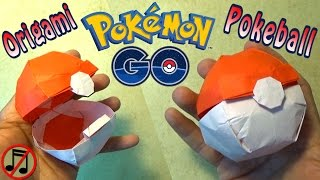 getlinkyoutube.com-Origami Pokeball that Opens! (no music)