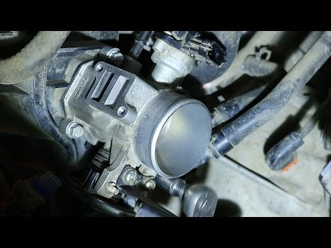 Hyundai Elantra J4 (HD). G4FC. Чистка дросселя и РХХ