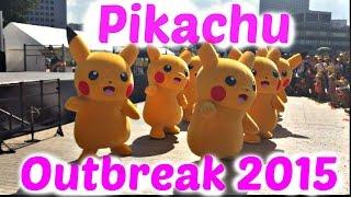 getlinkyoutube.com-Pikachu Outbreak 2015: Pikachus Dancing