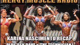 Heavy Muscle Radio (3/27/17) Karina Classic Recap Plus Ask Dave & Aceto!