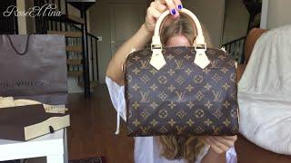 getlinkyoutube.com-Louis Vuitton Speedy B 25 Unboxing