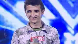getlinkyoutube.com-X Factor Albania - 8 Janar 2012 - Aziz Ruda