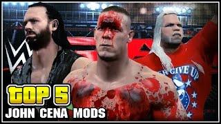 getlinkyoutube.com-Top 5 John Cena Mods - WWE 2K15 PC Mods