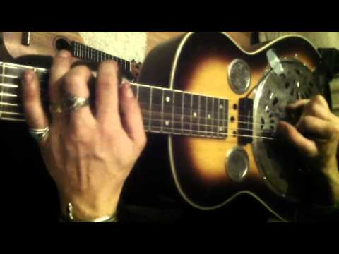 Fred Stitz Plays Dobro Lap Steel part .2