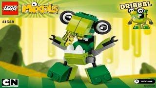 getlinkyoutube.com-LEGO  MIXELS  SERIES  6 GLORP  CORP  DRIBBAL  41548  -  Лего  Миксели  6 серия  ГЛОРП  КОРП  ДРИББАЛ