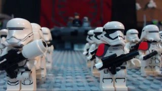 getlinkyoutube.com-Lego Star Wars The Force Awakens: Battle on Starkiller Base