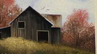 getlinkyoutube.com-Wilson Bickford Intermediate/Advanced Oil Painting Lesson - Autumn Barn