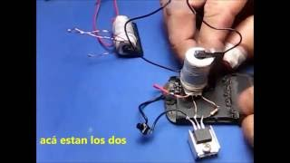 getlinkyoutube.com-MINI FLYBACK casero....Argentina ( Rcia. Chaco )