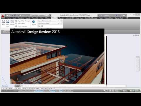 AutoCAD Construction Drawings Tutorial | Autodesk Design Review
