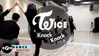 "getlinkyoutube.com-Twice ""Knock Knock"" Dance Tutorial (Chorus)"