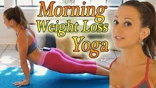 getlinkyoutube.com-Morning Yoga For Weight Loss - 20 Minute Workout Fat Burning Yoga Meltdown Beginner & Intermediate