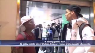 La charla entre Musonda y Cristiano Ronaldo a la salida del Benito Villamarín