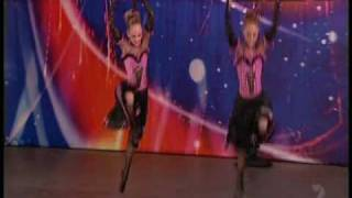 getlinkyoutube.com-Australia's got Talent 2008 - Flying Twins