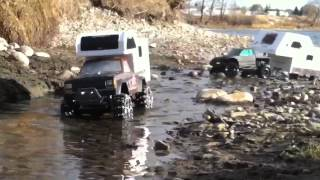 getlinkyoutube.com-RC CWR - Part 4 winter camping run
