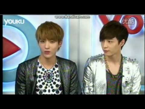 [FULL] 120412 EXO-M Youku Live Chat Part 1/6