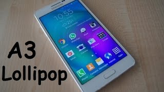 getlinkyoutube.com-How to Install Android 5.1 Lollipop on Samsung Galaxy A3 and A3 Duos step by step Tutorial