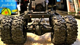 HOW TO MOD YOUR SCX10 FOR SCALE DUALLY TIRES & AXLE