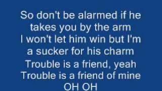 "Lenka ""Trouble is a Friend"" (Lyrics)"