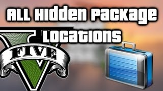 getlinkyoutube.com-GTA V (5) - All Hidden Packages Locations - Easy $150,000+, make millions using respawns!