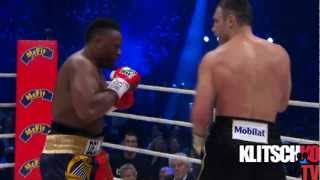 getlinkyoutube.com-Vitali Klitschko vs Dereck Chisora (Highlights)