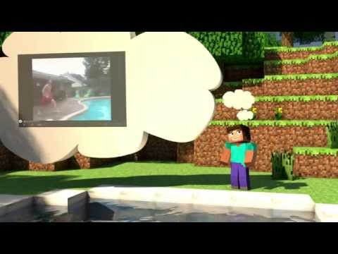 ''Epic Pooljump'' - Minecraft Animation - Animacraft