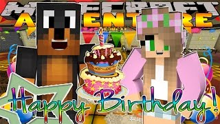 getlinkyoutube.com-Minecraft - Little Donny Adventures - DONUTS BIRTHDAY PARTY w/ LITTLE KELLY & LITTLE CARLY