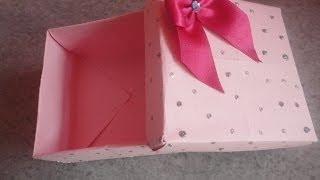 getlinkyoutube.com-Faça você mesma: Caixa de presente