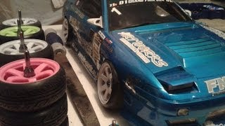 getlinkyoutube.com-How to: Stretched Tires RC DRIFT