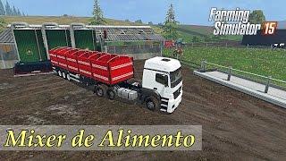 getlinkyoutube.com-Farming Simulator 15 - Mod Mixer De Alimento
