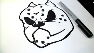 getlinkyoutube.com-Comment dessiner  chien | Graffiti