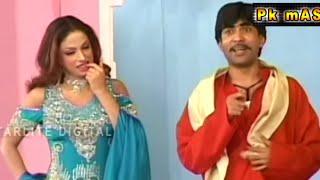 getlinkyoutube.com-Sajan Abbas and Asif Iqbal New Pakistani Stage Drama Full Funny Clip