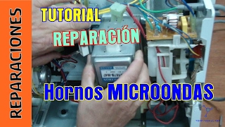 getlinkyoutube.com-Tutorial Reparacion Microondas