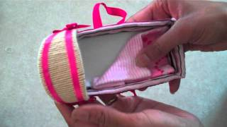 getlinkyoutube.com-How to Make Doll Baskets and Bassinets