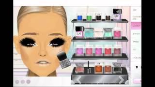 getlinkyoutube.com-Stardoll Makeup Tutorial #2 - Gang/Swag Transformation♥