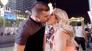 "getlinkyoutube.com-The Prank Invasion Method - ""Kissing Prank"" In Las Vegas"