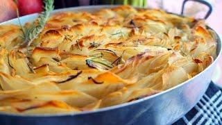 getlinkyoutube.com-صينية بطاطس محمرة في الفرن Oven Roasted Crispy Potatoes