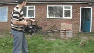 getlinkyoutube.com-Old Painless Airsoft Minigun Review