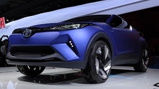 getlinkyoutube.com-Toyota Unveils Hybrid Crossover C-HR Concept Vehicle