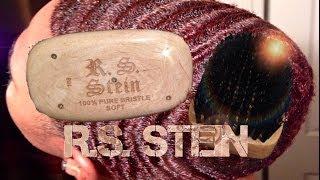 getlinkyoutube.com-R.S. Stein Brush Review: Brush Session